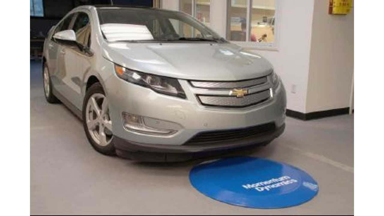 Chevrolet Volt Wireless Charging System Unveiled