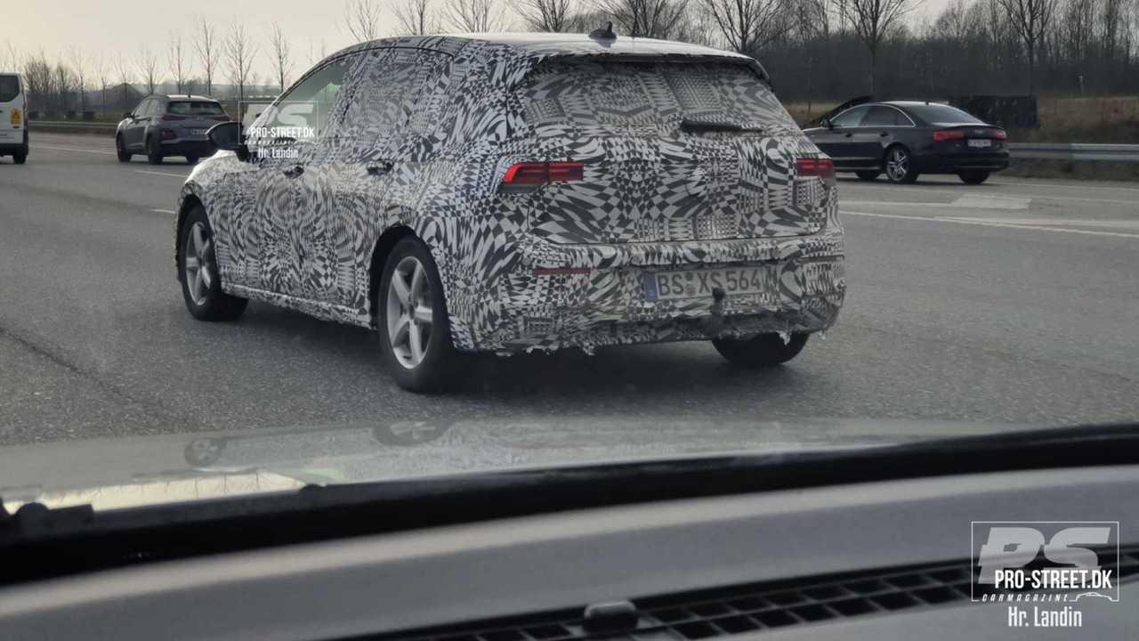 VW Golf 2020 na Dinamarca