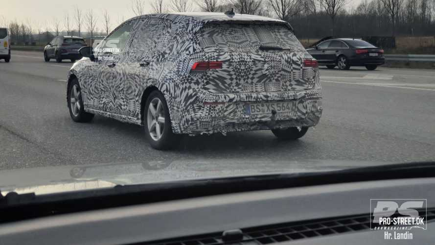La Volkswagen Golf 8 poursuit son développement à Copenhague