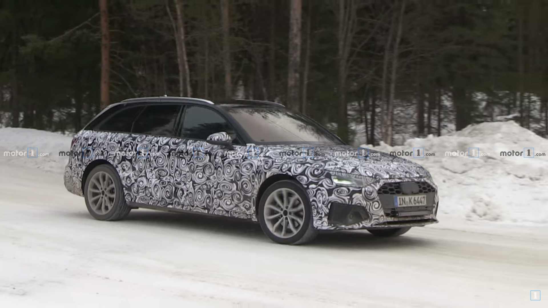 Audi A4 Avant Facelift Caught On Video Strutting Its Stuff