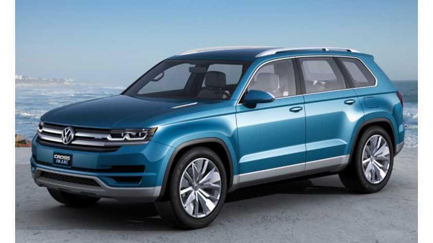 Volkswagen Unveils Plug-in Diesel Hybrid CrossBlue Concept (w/video)