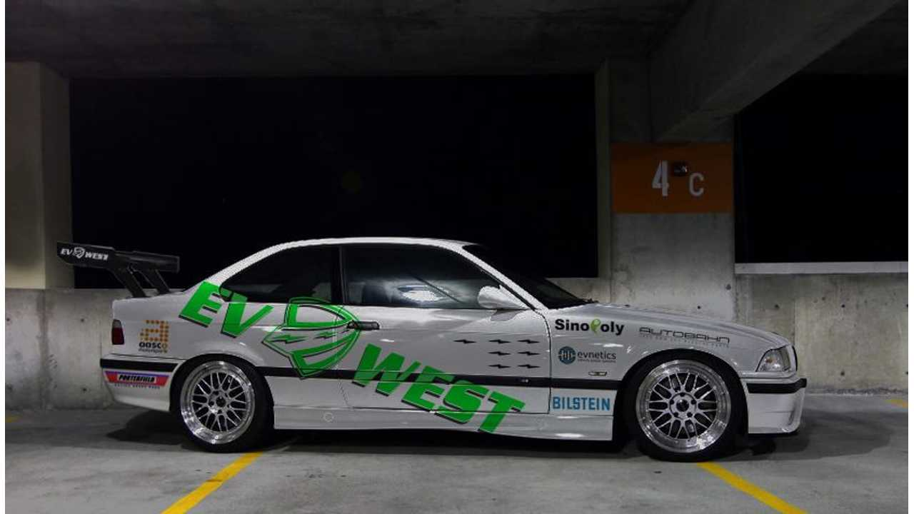 Race prepped 1995 E36 M3 from EV West