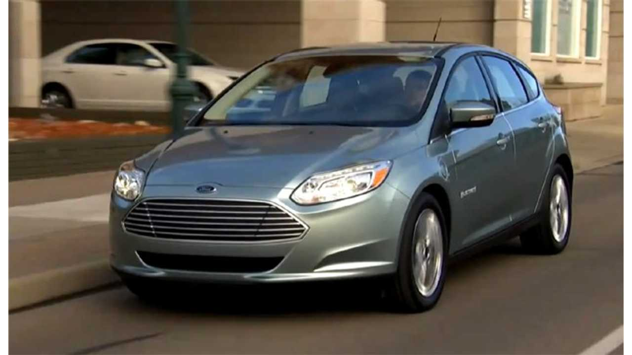 Ford Planning To Announce Cheaper Focus Electric Trim Level?