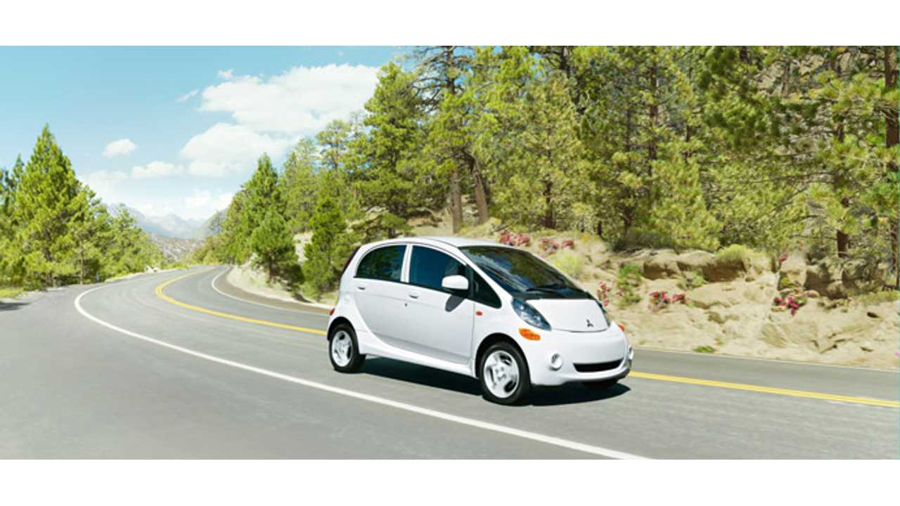 Mitsubishi I-MiEV Recall Extends Into United States.  1,400 EVs To Be Fixed.