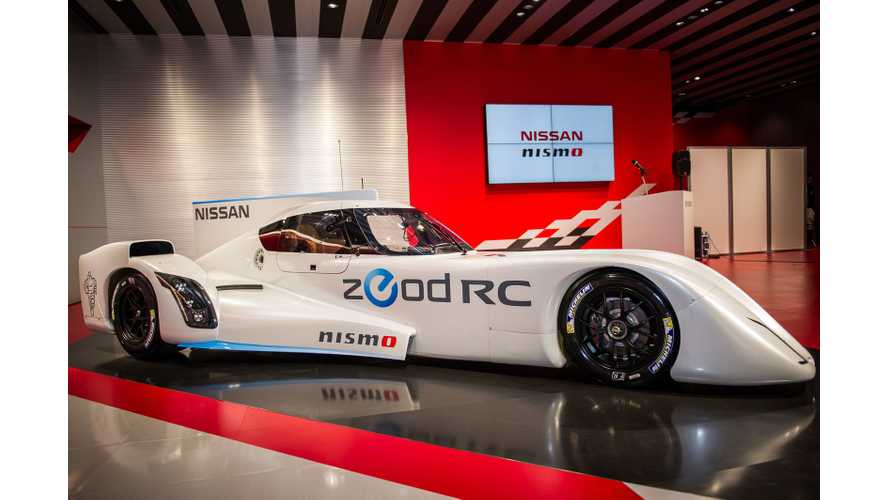 Nissan ZEOD RC First Drive at Fuji Speedway (w/video)