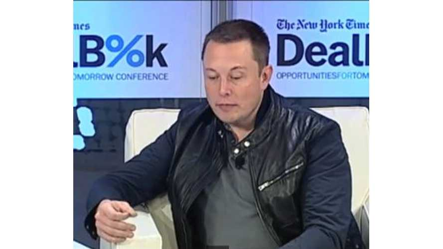 Video: Elon Musk Discusses Tesla Model S Fires at Dealbook Conference