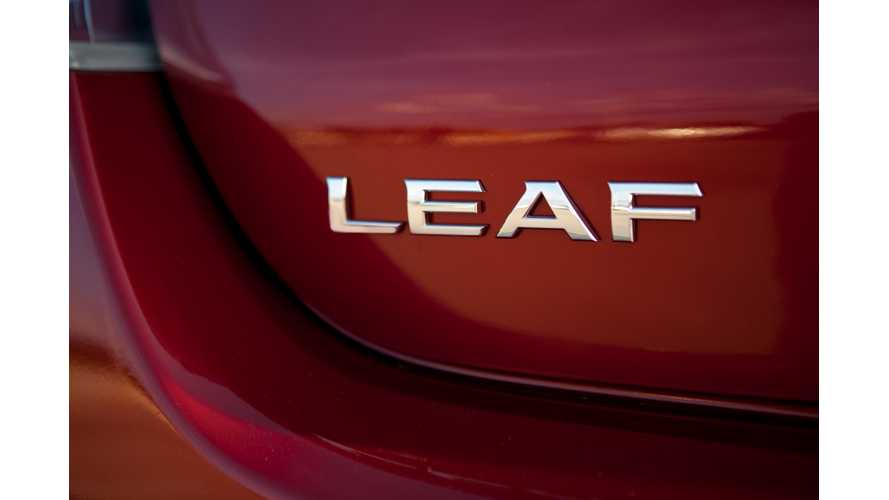 Cumulative Nissan LEAF Sales Zip Past 35,000 in US