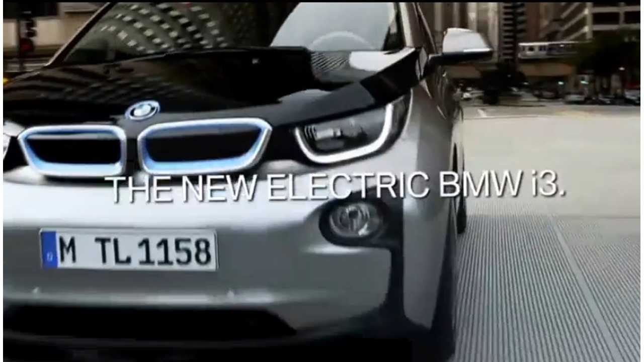 BMW i3 Commercials Hit The Airwaves: