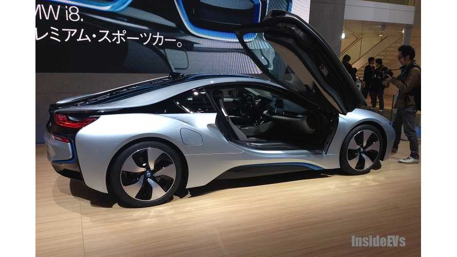 BMW Says Next Year's i8 Is Sold Out