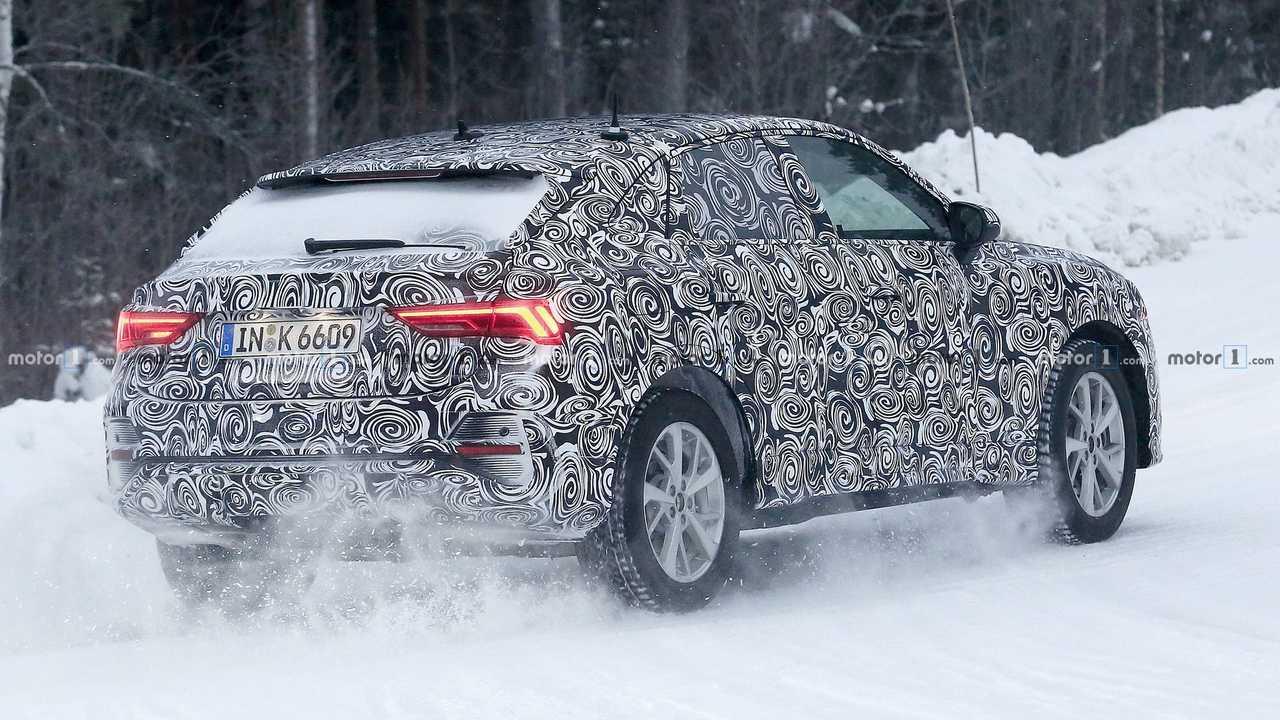 Photo espion Audi Q4