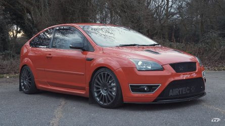 NOS-Equipped, 640-Horsepower Ford Focus ST Is Just Bonkers