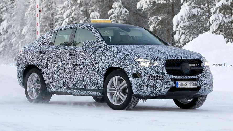 Le futur Mercedes GLE Coupé déjà débusqué