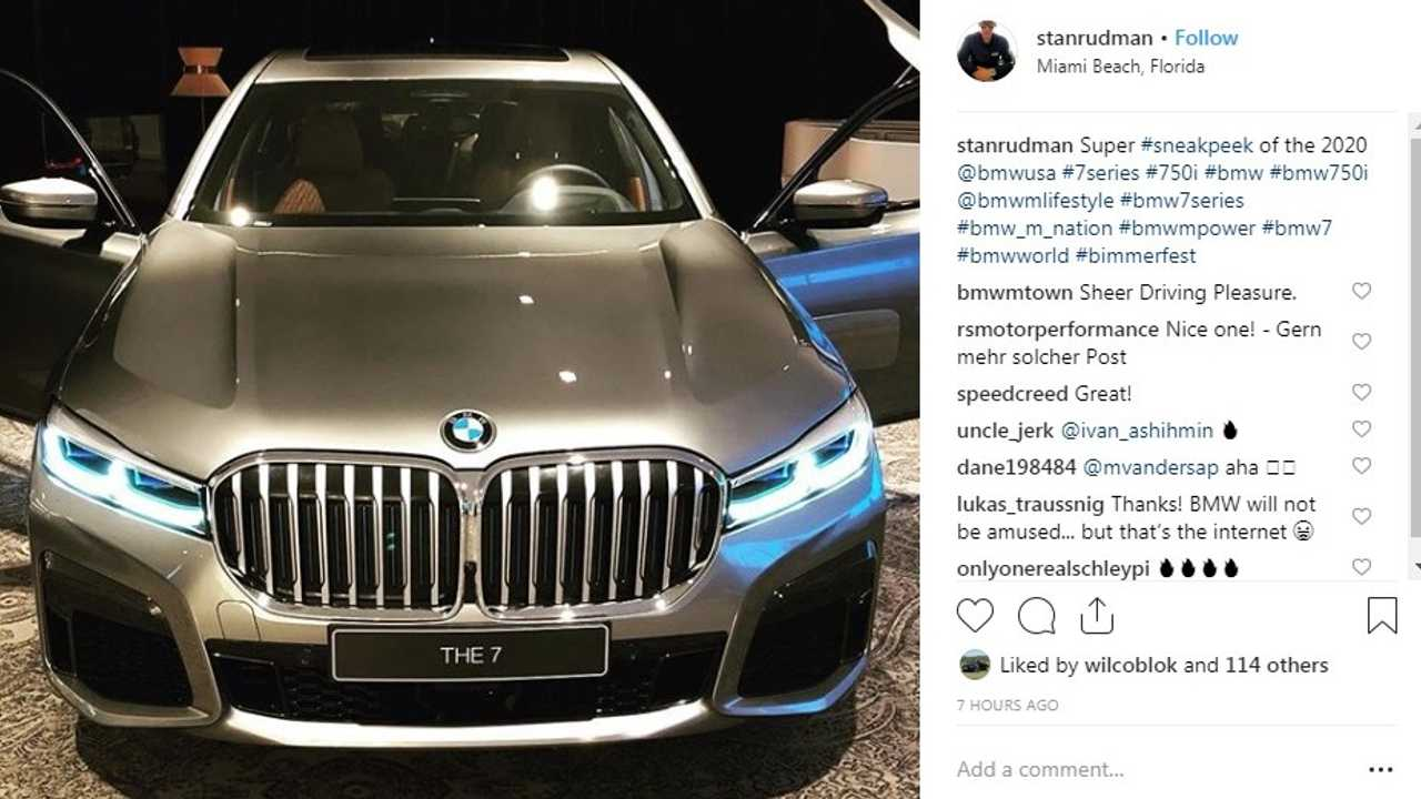2020 BMW 7 Series LCI front
