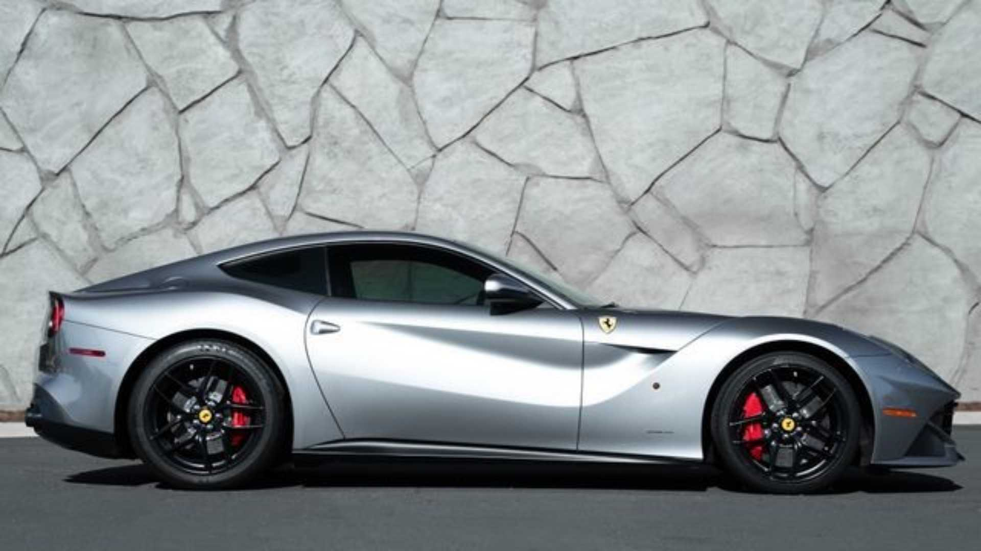 """[""""Be Transported in Style with Jason Statham's Ferrari F12 Berlinetta""""]"""