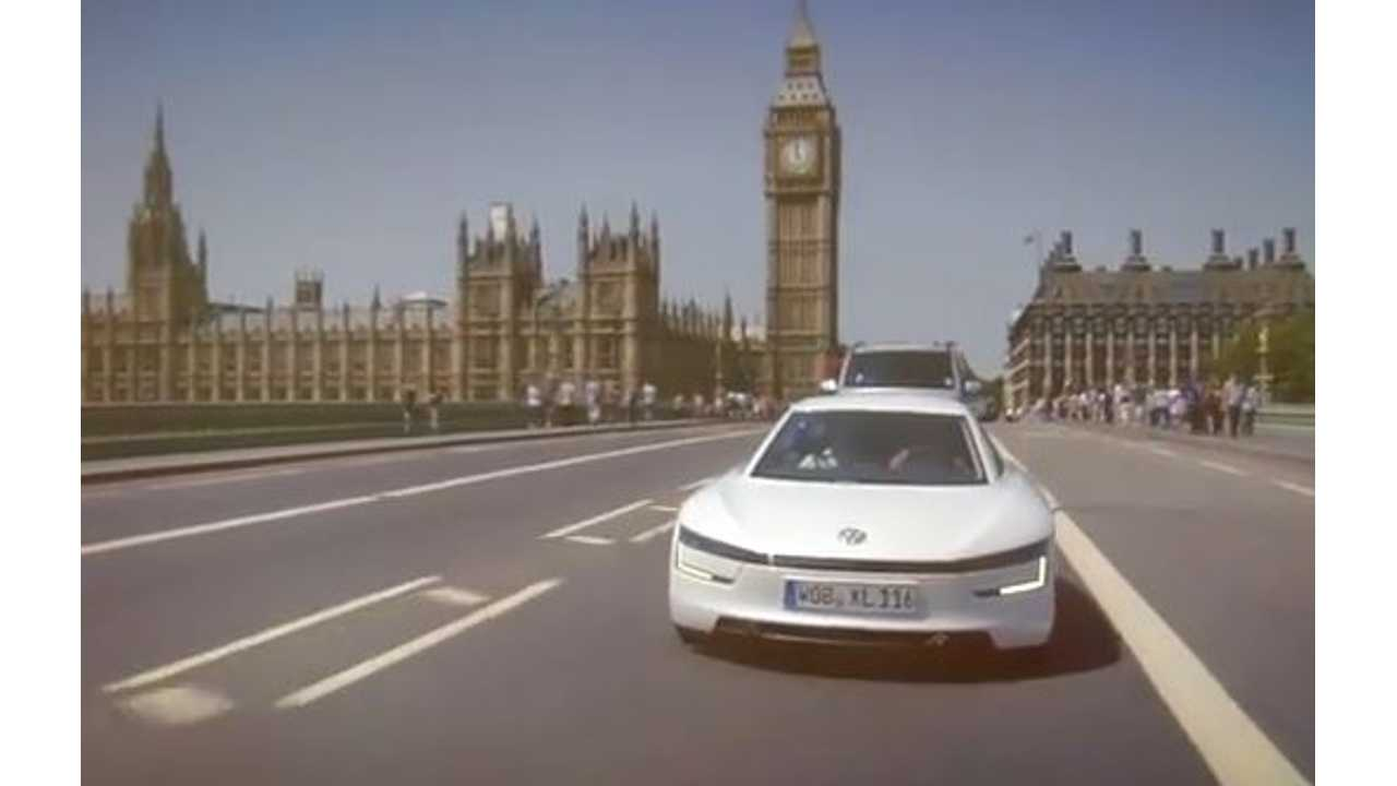 Video: Volkswagen XL1 Goes First In New Series Of Fully Charged