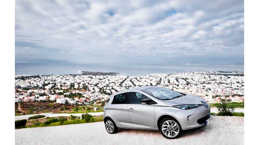 "Renault Introduces Low-Cost Z.E. Access Battery Rental Offer for ""Low-Mileage Driver"" of ZOE"