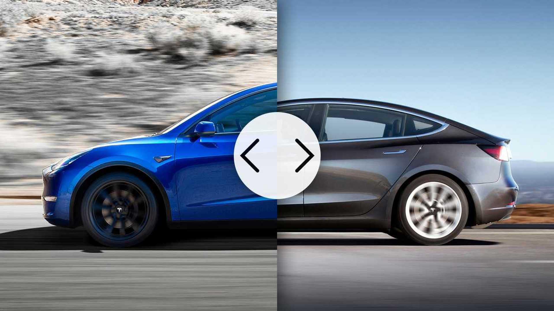 Tesla Model Y frente a Model 3, estas son las diferencias