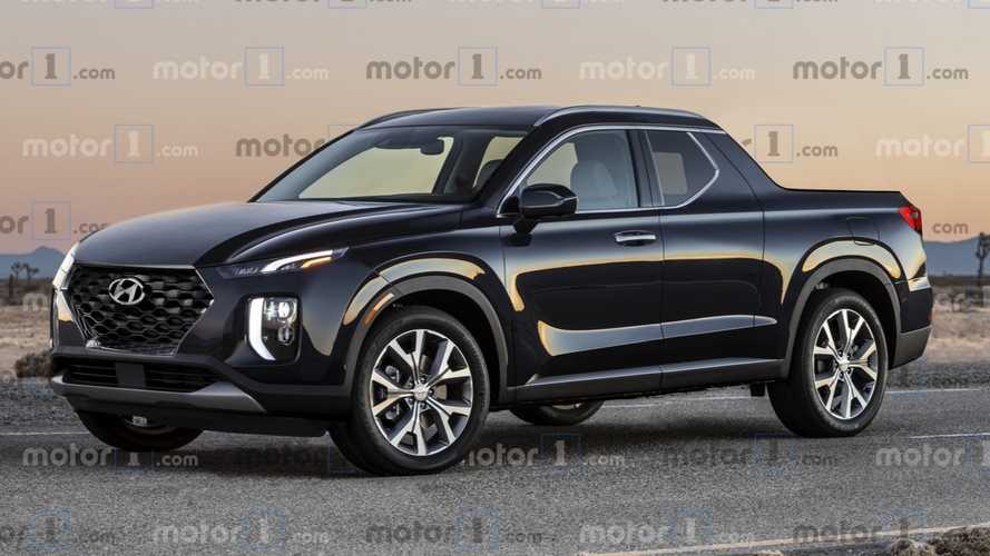 Render Hyundai Santa Cruz 2020: un pick-up con mucho estilo