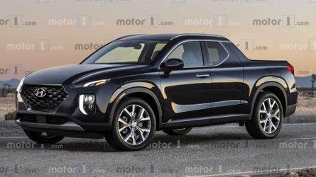 Le Hyundai Santa Cruz de série tel que nous l'imaginons