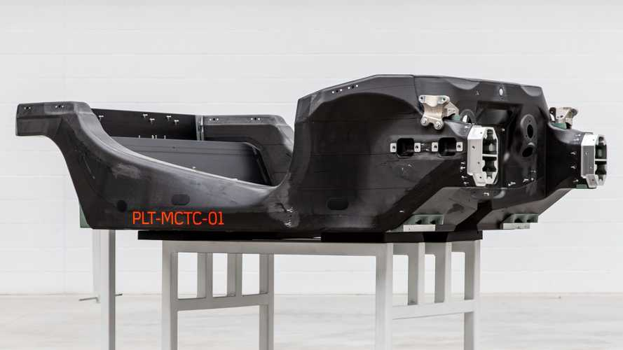McLaren produces first Carbon tub at new Sheffield factory