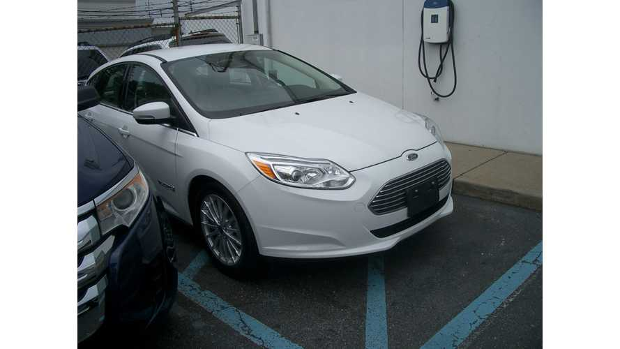 Update: First Ford Focus Electric Is Delivered