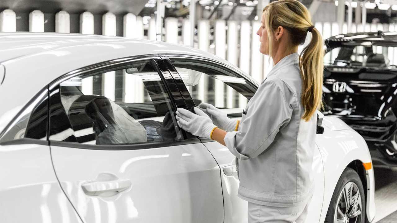 Honda Civic производства Суиндон Великобритания