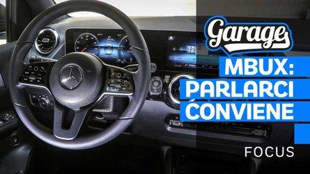 Mercedes Classe B con MBUX: parlarci conviene