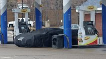 C8 Corvette Breakdown Spy Photo
