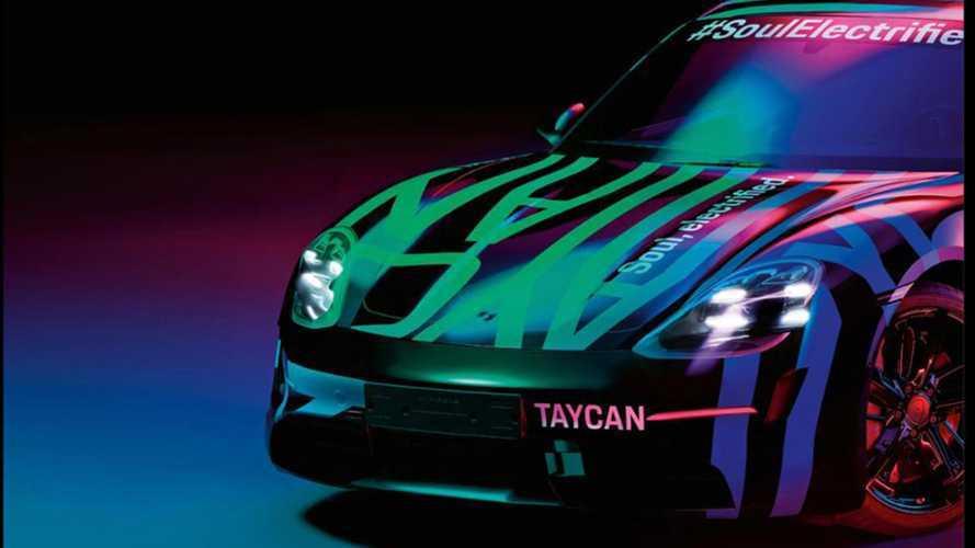 Porsche montre à nouveau la Taycan