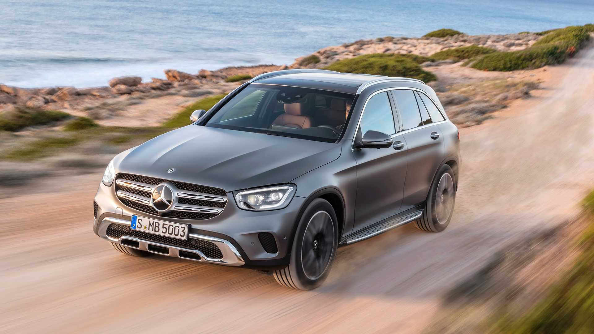 2020 Mercedes GLC Shows Subtle Facelift In Official Videos