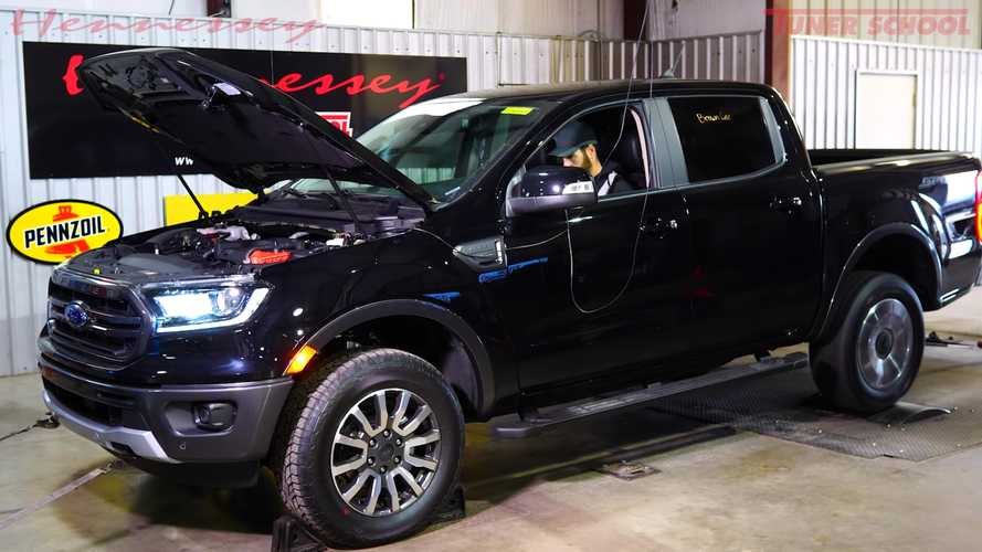2019 Ford Ranger Dyno Run Reveals Real Power Level