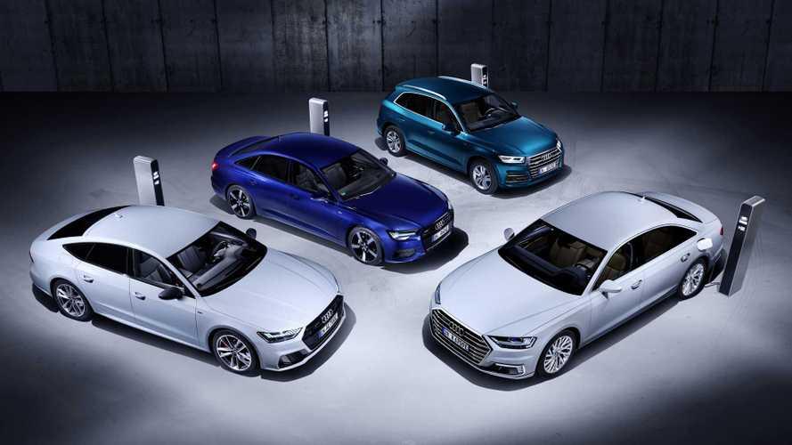 Audi Q5, A6, A7 und A8: Neue Plug-in-Hybrid-Modelle (2019)
