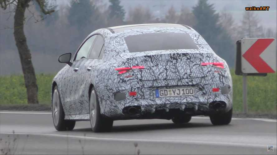 Mercedes-AMG CLA-Class Spy Screenshots