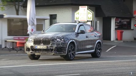 See The BMW X6 Casually Road Testing On This Spy Video