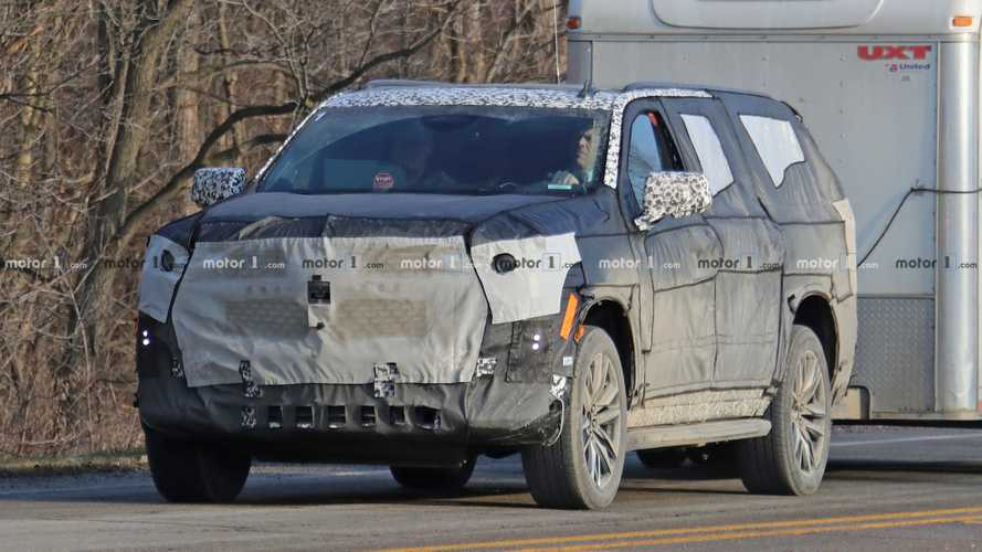 Cadillac Escalade Spy Photos