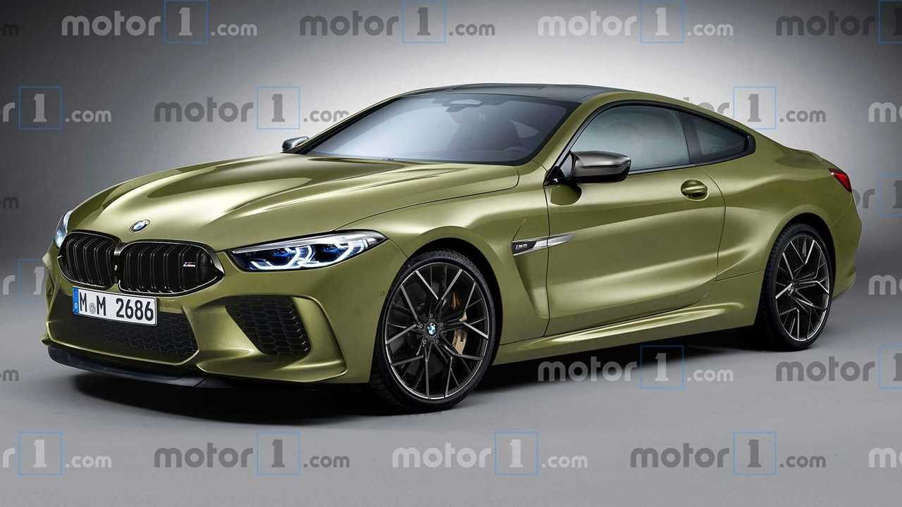 BMW M8 Coupe render
