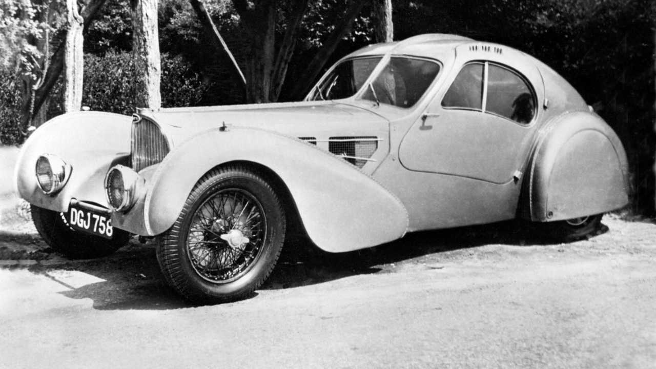 Bugatti Type 57 SC Atlantic Rothschild 1936