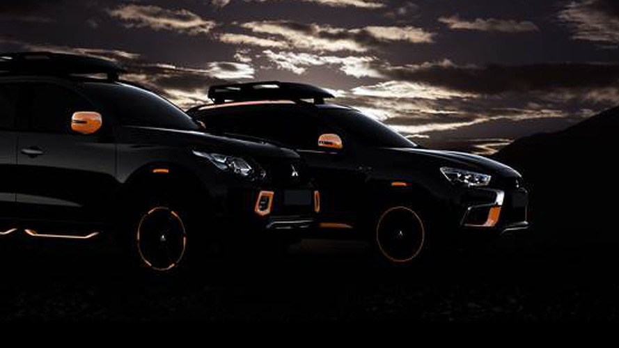 Mitsubishi ASX & L200 concepts teased for Geneva