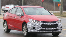 Chevrolet Cruze Hybrid spy photo