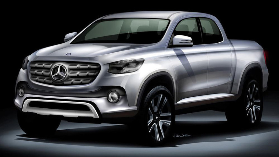 Mercedes pickup rumored for Paris debut