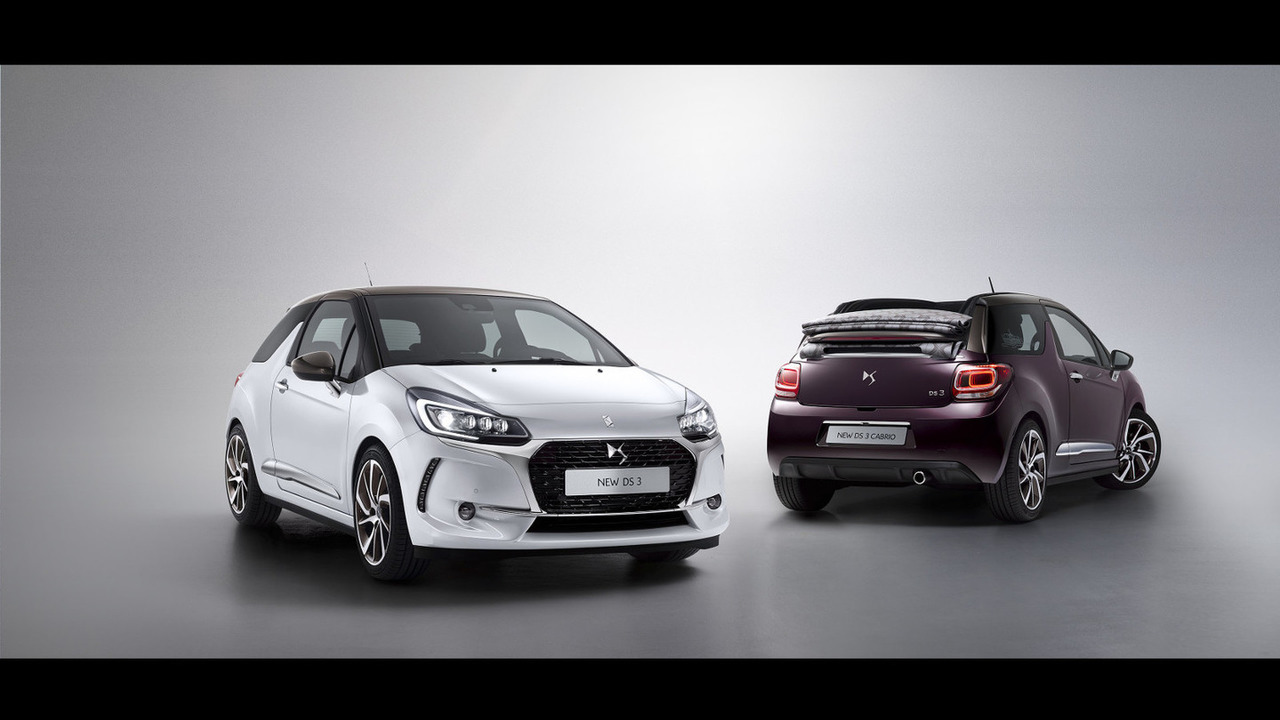 DS 3 / DS 3 Cabrio facelift
