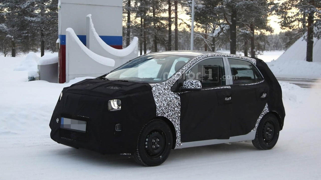 2017 Kia Picanto Continues Winter Tests Video Motor1com Photos