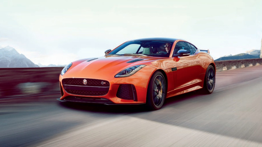 Jaguar F-Type SVR leaked, has 575 hp