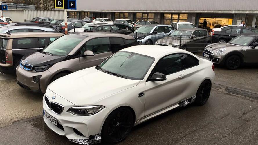 BMW M2 spied hiding M Performance goodies