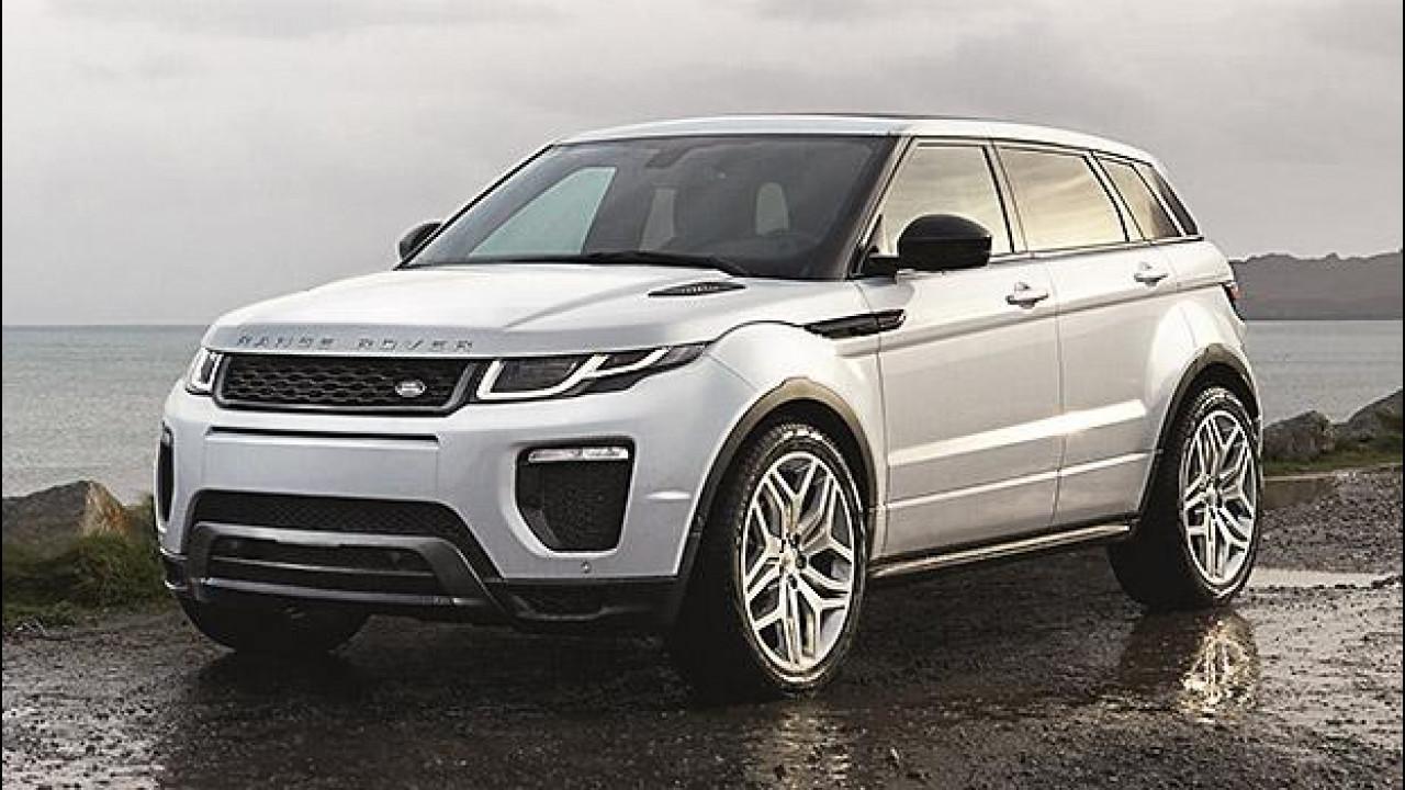[Copertina] - Range Rover Evoque restyling, con LED e motori più efficienti