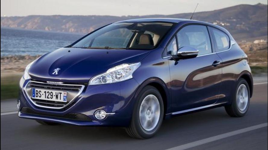 La Peugeot 208 si può anche noleggiare