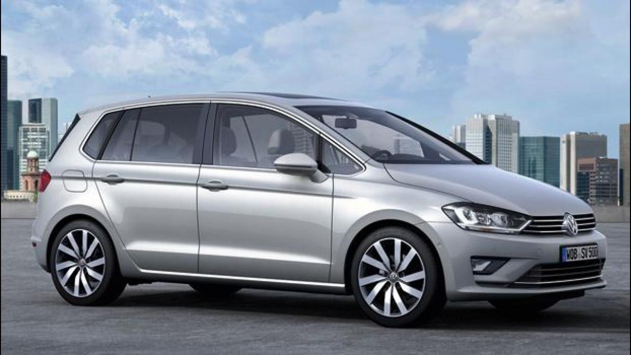[Copertina] - Volkswagen Golf Sportsvan Concept