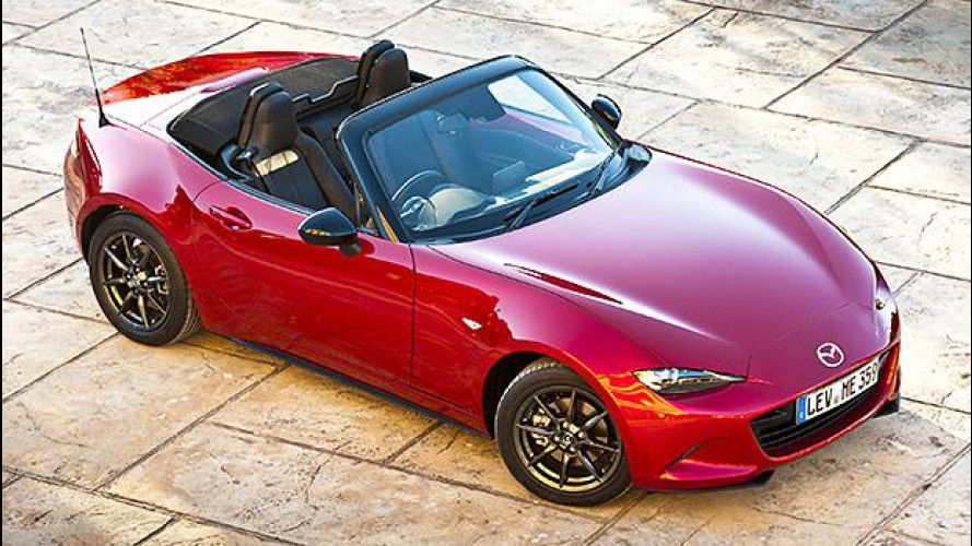 Nuova Mazda MX-5, la quarta serie si scopre in estate