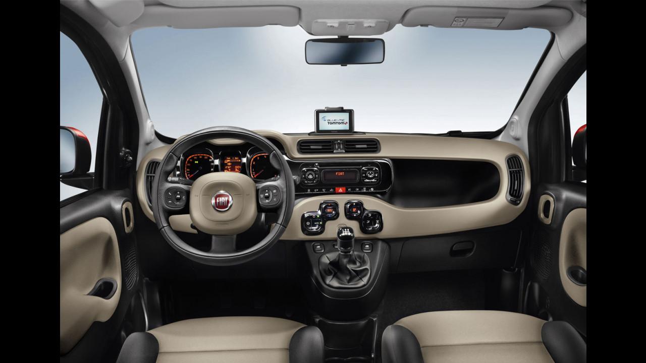 Nuova Fiat Panda. Interni