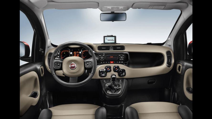 Nuova Fiat Panda: uno sguardo agli interni